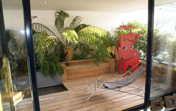 Terrasse en bois - Menuiserie Agencement Général 44 à Nantes (44)