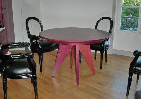 Table à manger extensible - Menuiserie Agencement Général 44 à Nantes (44)